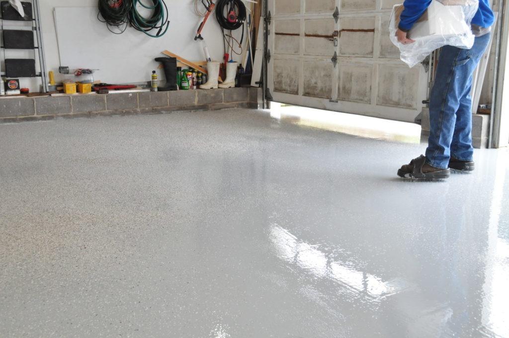 Flake Epoxy Floor Chattanooga Tn